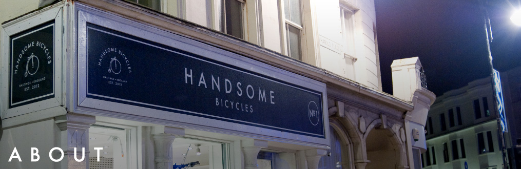 about handsome bicyces